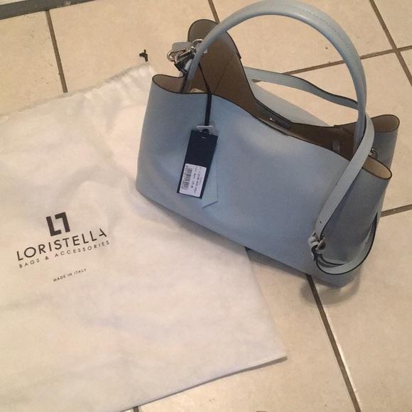 Leather bag❄ . NWT. Loristella 88bfd14e5d6